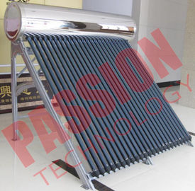 China High Pressure Roof Mounted Solar Water Heater With Electric Backup 200L Capacity supplier