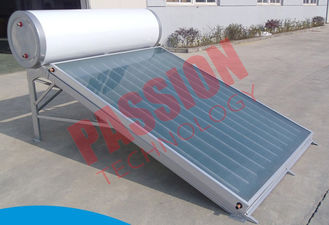China Compact Pressure Solar Water Heater 150 Liter Anode Oxidation Coating supplier