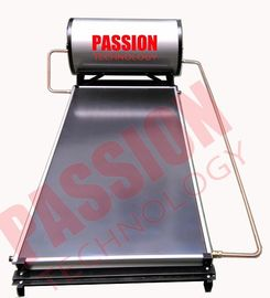 China Compact Solar Water Heater Flat Plate , Rooftop Solar Hot Water System 150L supplier