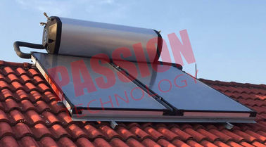 China Split Pressurized Solar Water Heater 300 Liter , Electric Solar Water Heater supplier