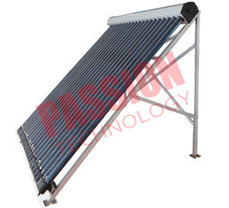 China Heat Pipe Solar Power Collector , Solar Water Collector For Shower 24 Tubes supplier