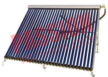 China Wall Mounted Heat Pipe Vacuum Tube Solar Collector Aluminum Alloy Material supplier