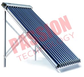 China 14*70mm Condenser Copper Keymark Approved High Efficiency Heat Pipe Solar Collector supplier