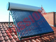 China Roof Flat Solar Water Heater , Copper Pipe Solar Water Heater For Washing factory