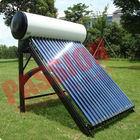 China Indirect Loop Solar Power Hot Water System , Roof Mounted Solar Water Heater Pipes factory