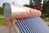 China Pvc Pipe Solar Water Heater Glass Tubes , Home Solar Water Heating Systems factory