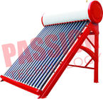 China Portable Non Pressurized Solar Water Heater Non Pressurized Vacuum Tube 200L factory