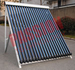 Convenient Install Heat Pipe Solar Collector With Reflectors 24mm Condenser