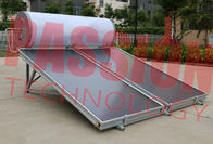 150L Solar Panel Hot Water Heater , Solar Assisted Water Heater Blue Titanium