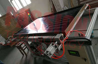 2.5 Sqm Ultrasonic Welding  Flat Plate Solar Collector Blue Titanium Coating 2000*1250*80mm