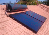 Integrated Pressurized Solar Water Heater Blue Titanium Coating Flat Plate Solar Collector