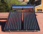 China Pressurized Flat Plate Solar Heating System , Kitchen Use Flat Plate Solar Water Heater factory