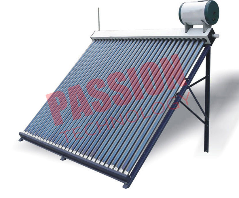 Home Bathing Solar Hot Water Evacuated Tube System With Feeding Tank