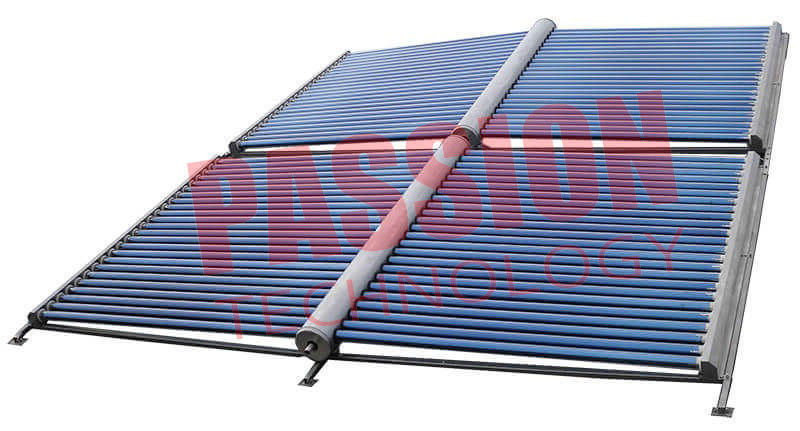 100 Tubes Evacuated Tube Solar Collector Solar Water