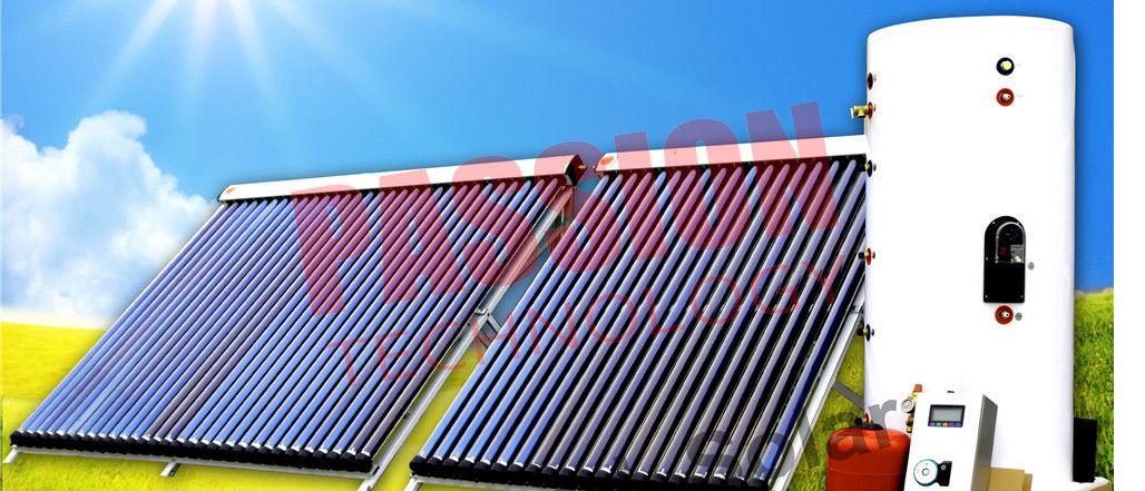 Heat Pipe Solar Water Heater Winter Copper Coil Solar