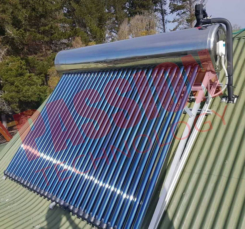 Indirect Loop Solar Power Hot Water System Roof Mounted