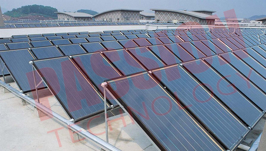 Durable Solar Thermal Collector , Flat Plate Water Collector ...