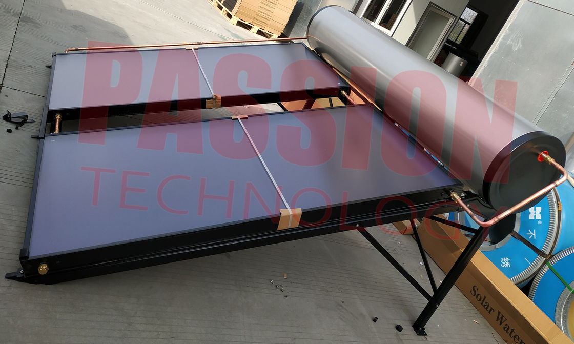South Africa Integrative Pressurized Flat Plate Solar Water Heater Geysers Blue Titanium