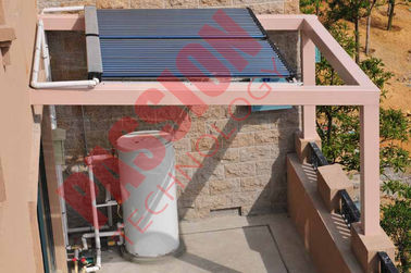 China 500L Split Pressure Solar Water Heater Evacuated Tube Heat Pipe Solar Collector factory