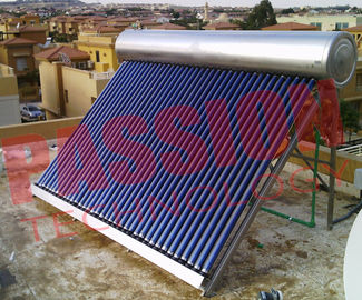 Intelligent Controller Vacuum Tube Solar Water Heater For Home Various Capacity