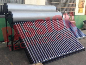 China Food Grade Vacuum Tube Solar Water Heater Portable With Painted Steel Shell factory