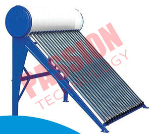 China High Pressure Pre Heated Solar Water Heater Copper Coil Easy Maintenance factory