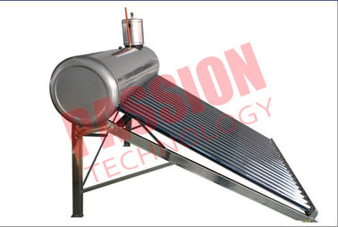 China Stainless Steel Pre Heated Solar Water Heater Portable Galvanized Steel Frame factory