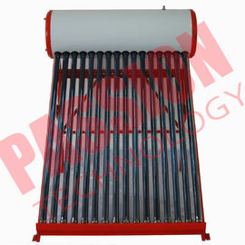 China Professional Open Loop Solar Water Heater 200 Liter Aluminum Alloy Frame factory