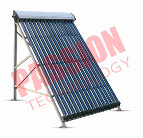 China 20 Tubes Heat Pipe Solar Collector For Split Tank OEM / ODM Available factory