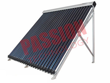 China Silver Color Pressurized Solar Collector , Solar Thermal Collectors For Flat Roof factory