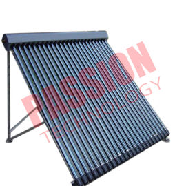 30 Tubes Pressurized Heat Pipe Solar Collector With Black Aluminum Alloy for House Used