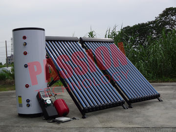 China Industrial Solar Water Heater Copper Coil , Home Solar Water Heating Systems factory