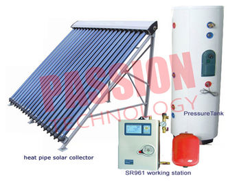 China High Pressure Solar Water Heater , Split Solar Assisted Water Heater factory
