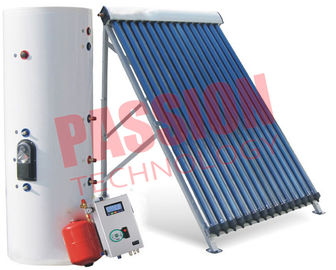 Direct Flow Sun Power Solar Water Heater Rooftop , Split Solar Hot Water System