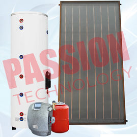 China Thermosyphon Solar Water Heater For Hot Water Heating 25mm Hail Resistance factory