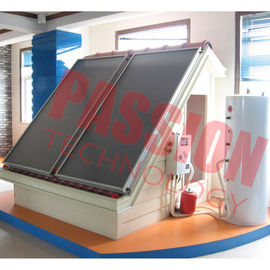 China High Performance Split Universal Solar Water Heater 300 Liter Aluminium Full Plate factory