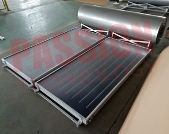 China 304 Outer Tank Integrated Mini Solar Water Heater Pressurized Blue Titanium factory