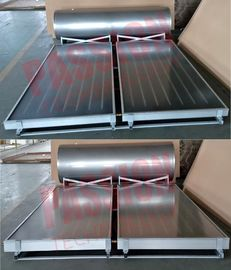 304 Stainless Steel Pressurized Solar Water Heater With Blue Flat Solar Collector