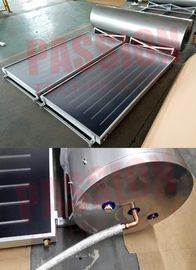 China 250L 316 Stainless Steel Flat Plate Solar Water Heater Blue Coating Flat Collector factory
