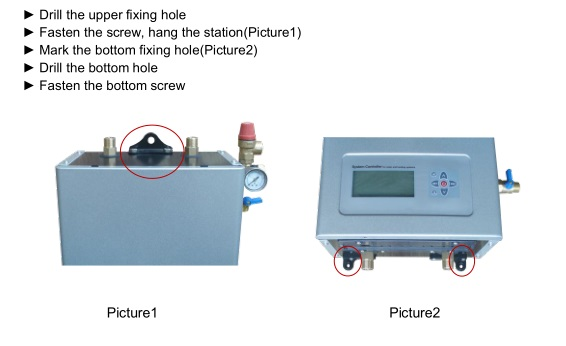 SR982S Solar Pump Station for Split Solar Water Heater System including Controller and Pump