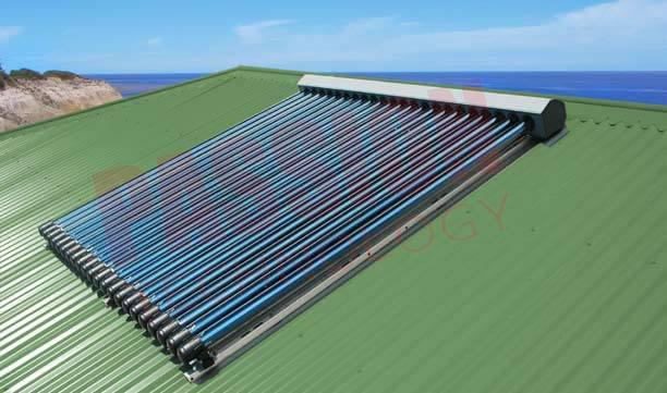 14mm Heat Transfer Condenser Copper Pipe High Efficiency Heat Pipe Solar Collector